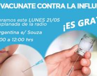 Puesto de vacunación se instalará frente al Grupo Venus