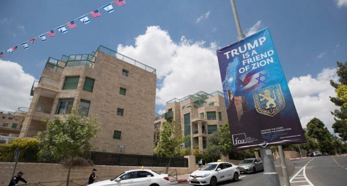 """Embajada de Estados Unidos marca """"un gran día para Israel"""", asegura Donald Trump"""