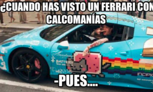 Los memes del 'Ferrari'