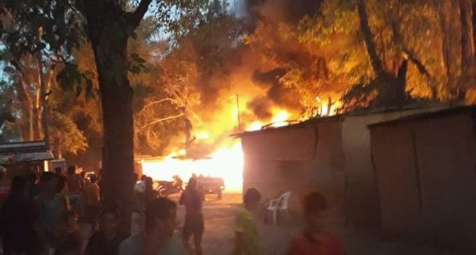 Más de 40 familias fueron afectadas por incendio en RI 14
