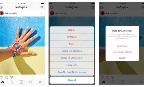 Instagram permitirá silenciar amigos para no dejar de seguirlos