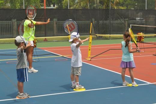 Clases gratuitas de Tenis en el Parque Ñu Guasu