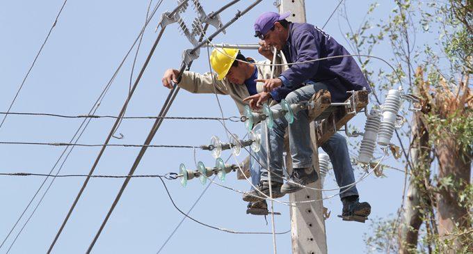 Cerca de 100.000 usuarios fueron afectados por cortes de energía eléctrica