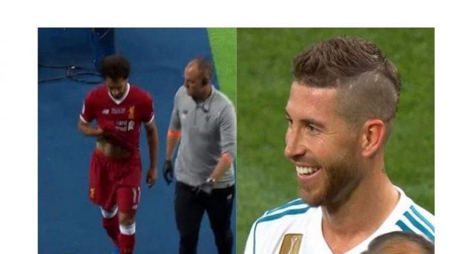 Mohamed Salah contesta a Sergio Ramos