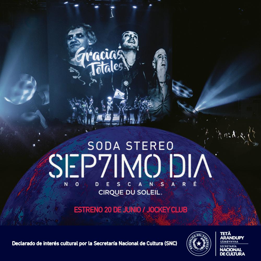 "El show ""SÉP7IMO DIA – No Descansaré"" es declarado de interés cultural"