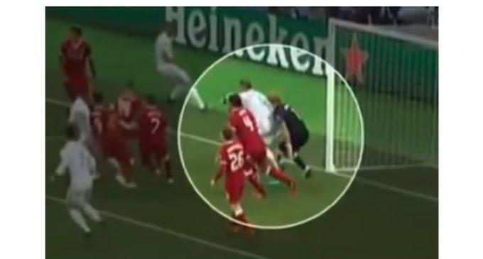 El arquero Karius sufrió una conmoción cerebral durante la final de la Champions League