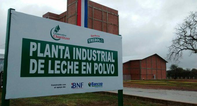 Inauguran nueva planta de leche en polvo en el Chaco