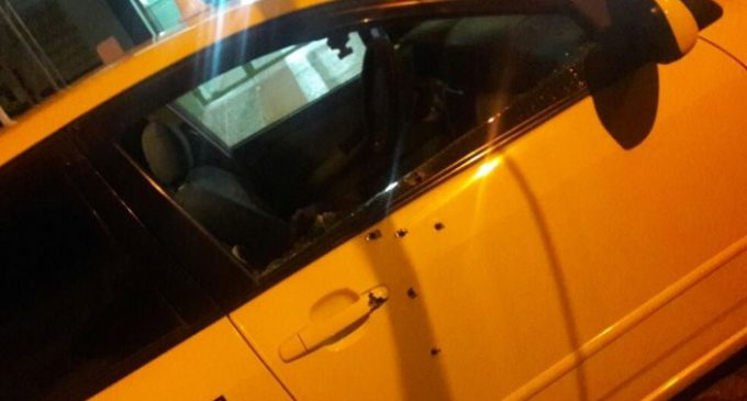 """""""Barrabrava"""" y taxista resultaron heridos en tiroteo"""