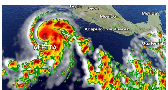 Aletta, el primer huracán de la temporada 2018, alcanza categoría 4