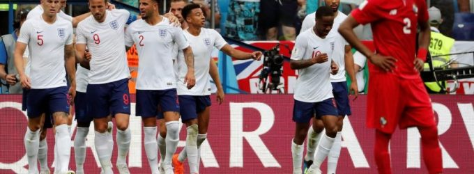 Inglaterra se inscribe en octavos
