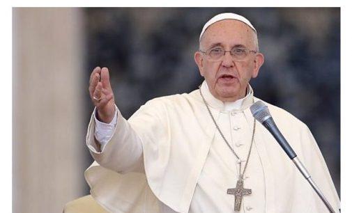 Papa Francisco pide terminar violencia en Nicaragua