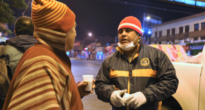 Emergencia Nacional pide donación de abrigos