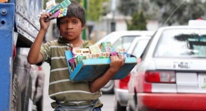 Los trabajos en situación de calle, en primer lugar en tabla de explotación infantil en nuestro país