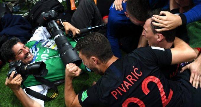 Habló el fotógrafo 'aplastado' por los jugadores croatas