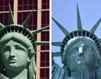 Estampilla con la Estatua de la Libertad equivocada, costó una enorme multa al servicio de correo en EE.UU.