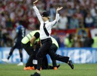 ¿Quiénes invadieron el campo de juego en la final del Mundial?