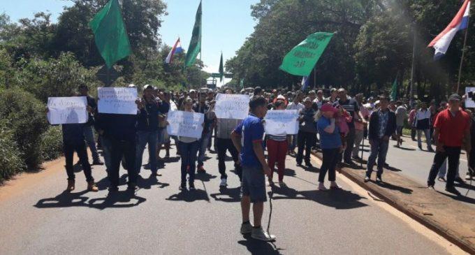 Movilizaciones en varios puntos del país en protesta contra el contrabando