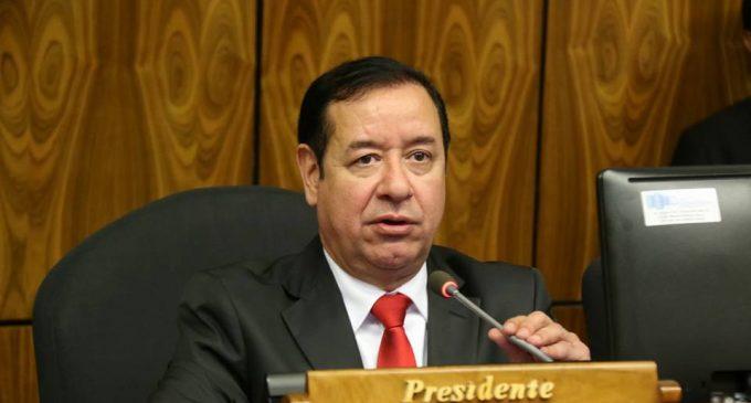"""El tema del pin de oro es un gran """"vyrorei"""", dice presidente de Diputados"""
