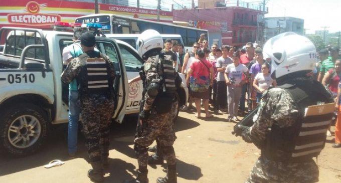 Linces sufren accidente en Asunción