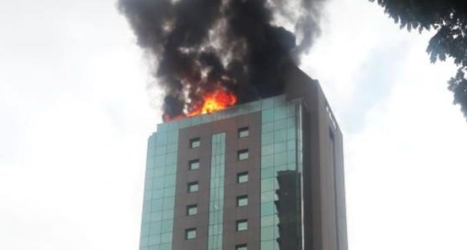 Brasil: Incendio en edificio de consulado paraguayo