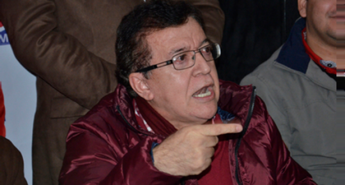 """""""Aunque llore y zapatee"""", Nicanor debe ser senador vitalicio"""