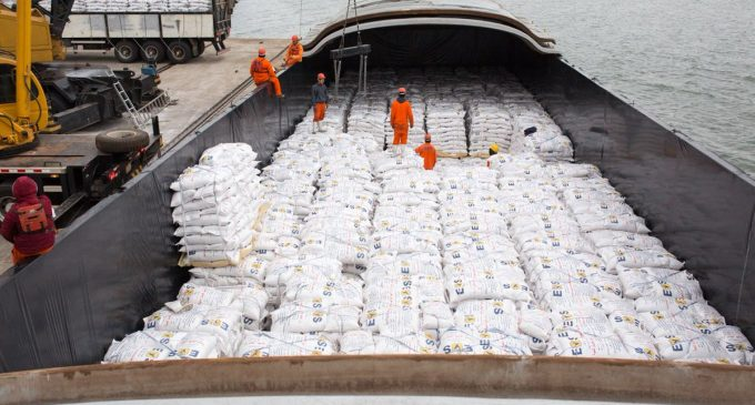 Paraguay comenzó a exportar arroz a Irak