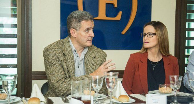 Soledad Núñez rindió cuentas ante el Club de Ejecutivos