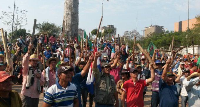 Campesinos marchan hoy en Asunción en reclamo de reivindicaciones