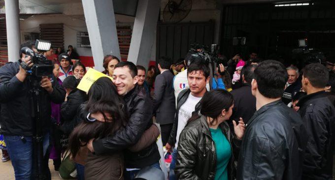 Caso Curuguaty: Liberaron a los campesinos presos en Tacumbú