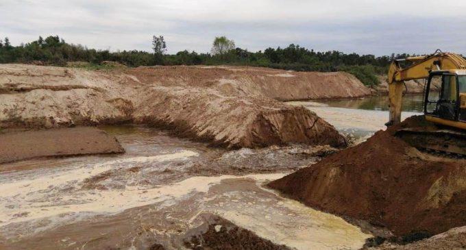 Se realizó la apertura del nuevo dique del río Pilcomayo
