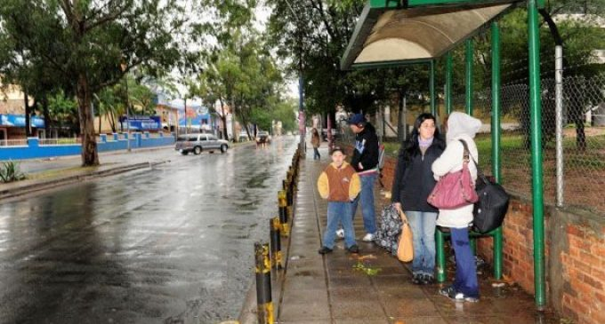Viernes frío y lluvioso