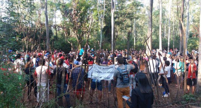 """""""No es una ocupación, es una recuperación de tierras"""", aclaran miembros de asentamiento"""