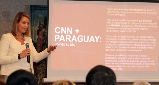Paraguay intensifica campaña de promoción turística en la cadena estadounidense CNN