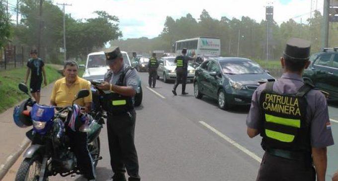 Desvinculan a 12 agentes de la Patrulla Caminera por diversas faltas