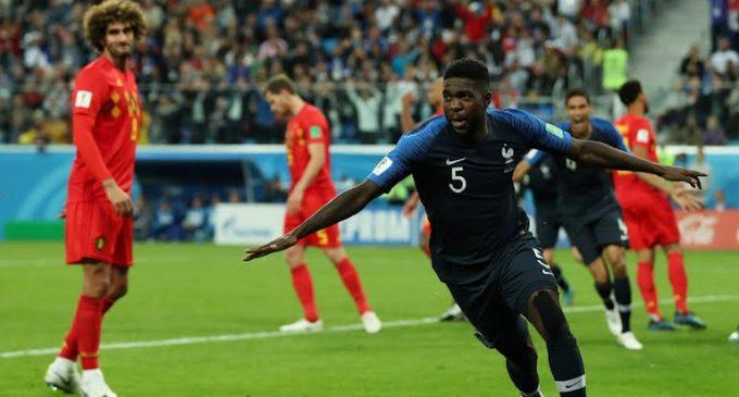 ¡Francia es finalista!