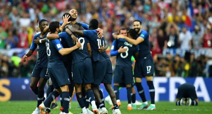 ¡Francia campeón!