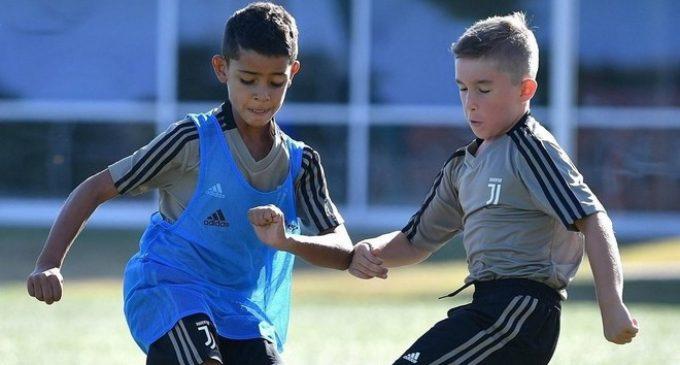 El hijo de Cristiano también ficha por la Juventus