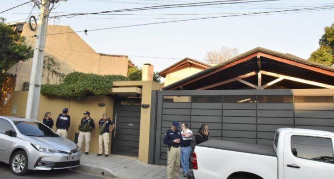 Allanaron casa de Javier Díaz Verón