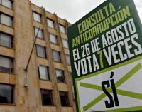 Colombia votará consulta popular para combatir corrupción