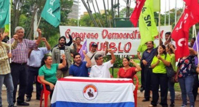 """Congreso Democrático del Pueblo prepara manifestación contra """"la mafia del sistema electoral"""""""