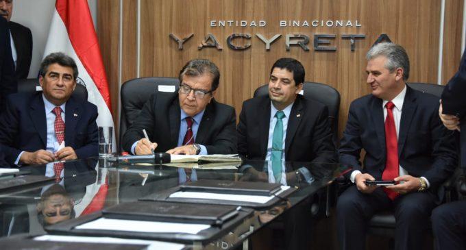 Nicanor asume como director de Yacyretá