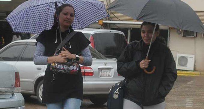 Martes frío y con lluvias dispersas