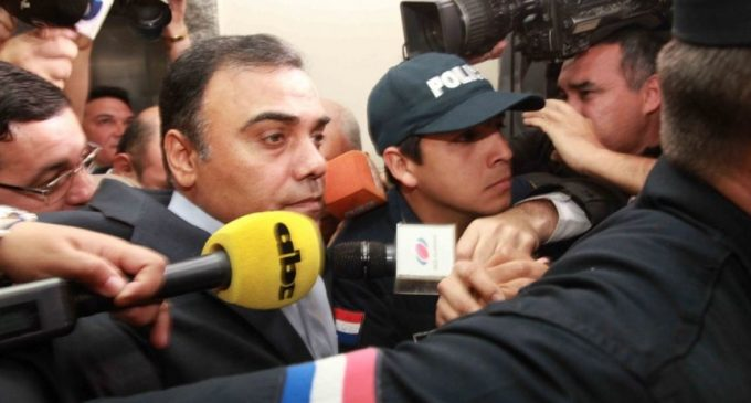 Díaz Verón, al Penal de Tacumbú