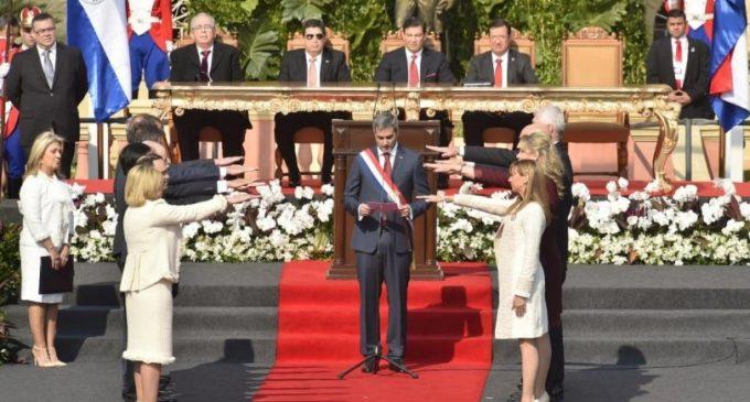 Juraron ministros del Gabinete de Mario Abdo Benítez