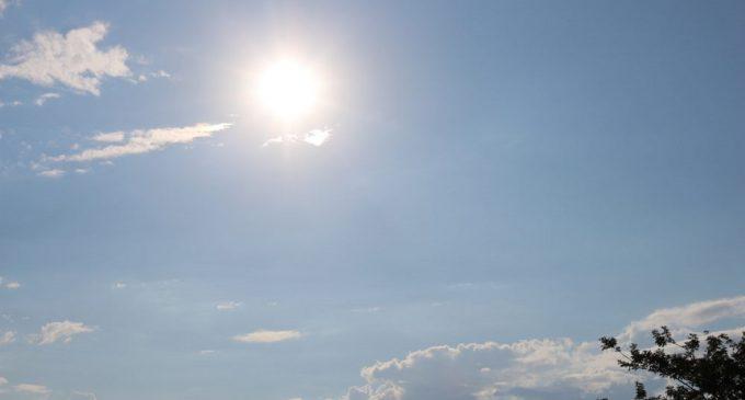 Inicio de semana cálido a caluroso