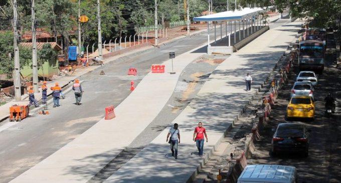 "Metrobús: ""Obras no paran"""