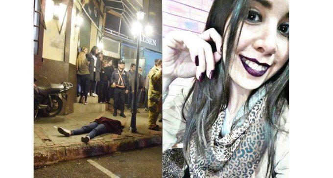 Por un celular, mataron a universitaria de un balazo