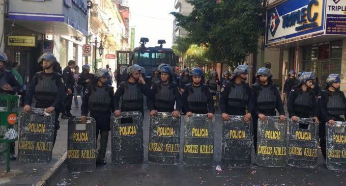 """Policía restringirá manifestaciones y recuerda vigencia de """"Ley del Marchódromo"""""""