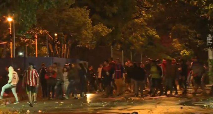 12 personas detenidas tras enfrentamiento entre propios barras de Cerro Porteño