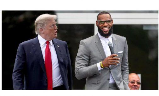 """Donald Trump contraataca a LeBron James: """"Le hacen parecer inteligente y eso no es fácil"""""""